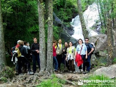 Valle del Jerte - Cascada del Caozo; singles senderismo; viajes en otoño